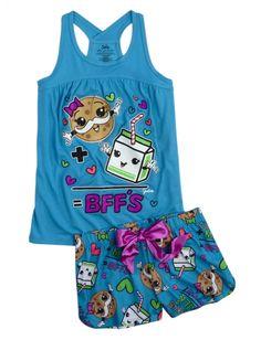 Milk And Cookie Pajama Set | Girls Pajamas & Robes Clothes | Shop Justice