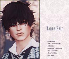 Sims Hair, Sims Community, Sims 4 Cc Finds, Made Clothing, Sims 4 Custom Content, Sims Cc, Cute Hairstyles, Teen, Hair Styles