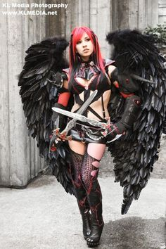 Efinii (Original Character from Aion: Asmodian Assassin) cosplay costume