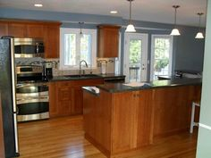 images of a country kitchen with mission cabinets | Classic Kitchen Cabinet Door Styles