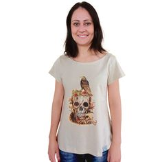 Blusinha Recycled Skull