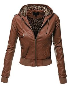 Doublju Women's Zip Up Faux Leather Moto Jacket with Hoodie Cognac 3XL Doublju http://www.amazon.com/dp/B00SKAZ476/ref=cm_sw_r_pi_dp_yA5Cvb12E7F81
