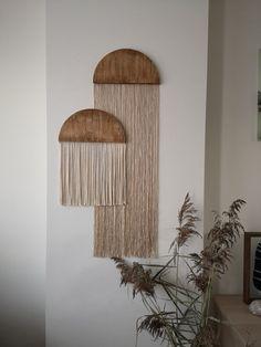 Diy Wall Art, Diy Wall Decor, Bedroom Decor, Macrame Wall Hanging Diy, Diy Crafts For Home Decor, Creation Deco, Boho Diy, Home And Deco, Diy Furniture