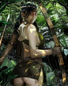 "4,842 Beğenme, 33 Yorum - Instagram'da I <3 fantasy art (@ilovefantasyart): ""Title: Amazon Jungle 02 Artist: David Benzal davidbenzal.com Follow: @david.benzal #picoftheday…"""