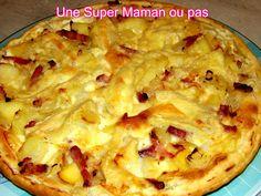 Pizza Tartiflette, Tartiflette Recipe, Fondue, Entrees, Tapas, Cauliflower, Macaroni And Cheese, Delish, Salads