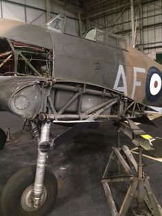 RAF Museum Offers a Rare Glimpse of Dismantled Battle of Britain Fighters