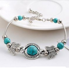 Fashion bracelet for women, vintage style and DIY style for friendship bracelet. Beads bracelet