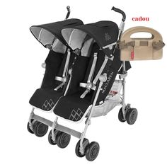 Get a umbrella double stroller for newborn and toddler for an easy walk with your youngsters