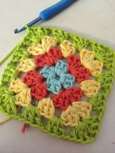 Basic Granny Square Pattern