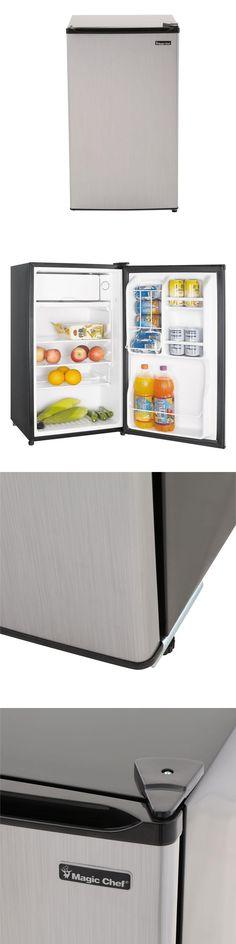 mini fridges magic chef 35 cu ft mini fridge compact freezer