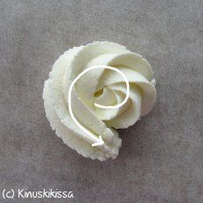 many different piping techniques on this site, awsome! (Click the picture) not english but easy to figure out Icing Frosting, Frosting Tips, Fondant Icing, Fondant Cupcakes, Buttercream Cake, Frosting Recipes, Cupcake Cakes, Fondant Baby, Easy Cake Decorating