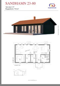 Small Floor Plans, Small House Plans, House Floor Plans, Home Building Design, Home Design Plans, Building A House, Shed Design, House Design, Tiny Little Houses