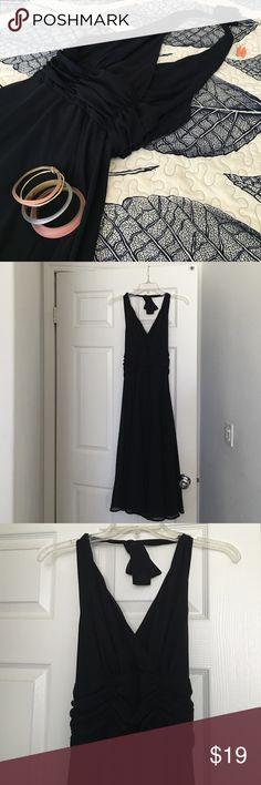 Black Cocktail Dress Black chiffon halter dress, Marilyn Monroe style, in excellent condition. Dresses