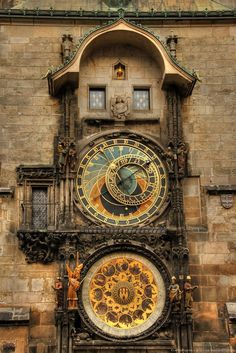 Astronomical Clock, Prague, Czech Republic My first memory of Prague was waking up in my courtyard hotel room to the singing prayers of an early morning Muslim. I knew I was as far East as I had ever been.