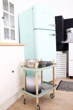 Smeg Küchengeräte im Retro-Design: Kühlschränke und Co ... | {Kühlschrank retro mint 48}