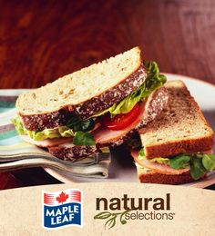 Ham and Jalapeno Havarti Sandwich #NaturalSelections @Maple Leaf®