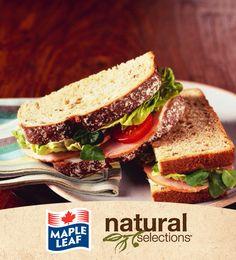 Sandwich de jambon et havarti aux jalapenos #NaturalSelections @Maple Leaf®