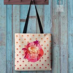 Enjoy the Sun Tote bag---Don't worry about me, I'll spend my days enjoying the Sun and having Fun reading my favorite book while carrying my bright, colored tote bag. Street Style Sunny Disposition Fashion Collection. Summer Reads, Gifts and Books Padmore Culture