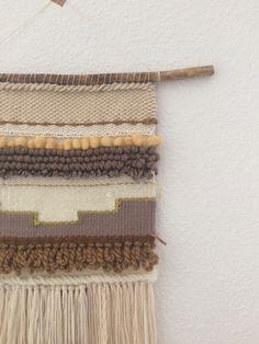 Wanddeko - Handgewebter Wandteppich || JUANA - ein Designerstück von mapeela bei DaWanda