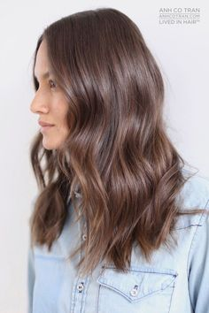 nice Coiffure cheveux longs : LOVELY + LONG Cut/Style: Anh Co Tran • IG: @Anh Co Tran • Appointment inquir...