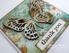 Hi it's Brenda here today from Bumblebees and Butterflies with some more doxides (that's my shorthand for Distress Oxides lol) background...