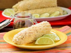 Elote (Mexican Grilled Corn) for #SundaySupper