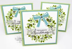 wondrous wreath cards - Google Search
