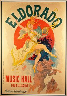 El Dorado Orig 1894 Jules Cheret