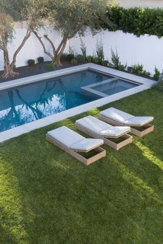 A tiny swimming pool is one of the greatest ideas if we have limited space but still want to have a beautiful exterior and outdoor space. And there are many swimming pool ideas which can provide smart shape to save more space in the house. But we need to consider the idea that even if it's small in size but still attractive, unique and offer a more relaxing space in the house. A tiny swimming pool provides a lot of fun and enjoyment for entire family. #tinyhouseexteriorideas