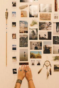 Beautiful Polaroid Photos Display Idea (16)