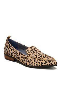 Dr. Scholl's Women's Elegant Flats - Brown Leopard - 9.5M