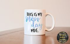 Who doesnt love coffee in the morning? I consider it part of my daily routine. These mugs are traditional white ceramic coffee mugs. ___________________ HOW ARE THEY MADE? These mugs not made with vinyl or drawn on. These mugs have been crafted using professional sublimation printers and inks, and then used in a heat press to permanently place the image on the mug. What does this mean? This means the image will not peel away, fade or scratch off. With that being said, these mugs can be…