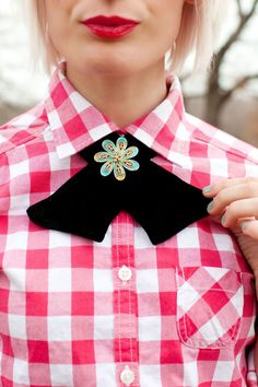#DIY scout-inspired bow tie