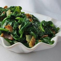Pan Fried Spinach, photo by naples34102