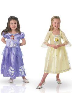 Pack déguisements classiques fille Princesse Sofia et Ambre™ Coffret : Ce lot de déguisements de Princesse Sofia™ et Ambre™ est sous licence officielle Disney™. Il se compose de 2 robes de princesse (chaussures non incluses). La robe de la... #IdeeCadeau #CadeauDeNoel #Noel2016 #NoelDeFille #JoyeuxNoel