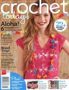 Butterfly Creaciones: revista crochet today! 2013