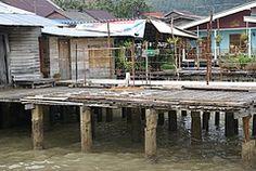 漁村の風景
