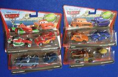 Disney Pixar CARS 2 Tomber Damaged Rod Zen Master Pitty Mater Finn Grem 8 Cars #Mattel