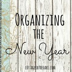 Organizing Tips and Inspiration