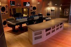 Luxury home recording studios are exclusive amenities. For many musicians and producers, a home recording studio can be rewarding. Music Recording Studio, Audio Studio, Music Studio Room, Recording Studio Design, Sound Studio, Home Studio Setup, Design Studio Office, Dream Studio, Studio Ideas