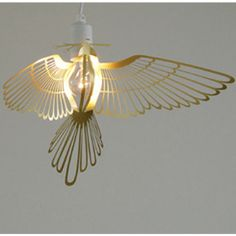 gold bird light