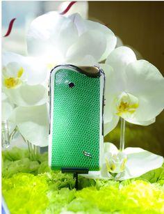 Jardin Secret inspiration for Savelli's Emerald Iguana model. Emerald, The Secret, Smartphone, Luxury, Model, Inspiration, Collection, Design, Style