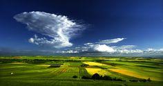 Tavoliere delle Puglie (Apulias' Tableland), Italy...   The Italian Landscapes…