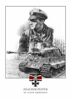 Joachim peiper a.k.a The Black Baron, German Tank Ace