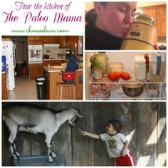 This week we travel to Western North Carolina to tour the kitchen of Jacqueline Ritz, author of the blog The Paleo Mama. / http://www.cheeseslave.com/real-food-paleo-mama/