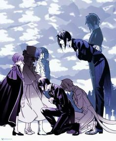 Kuroshitsuji: Ciel Phantomhive and Sebastian Michaelis. <3