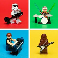 Lego Star Wars rock band