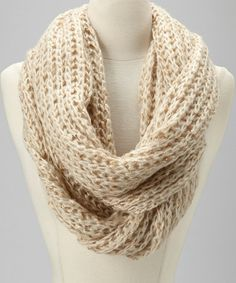 Take a look at this Beige Scarf by Raj Imports on #zulily today!