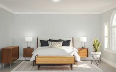 Bedroom Interior Designer Ideas | Havenly Master Room Design, Interior Decorating, Interior Design, Decorating Ideas, Mid Century Modern Bedroom, Scandinavian Bedroom, Bedroom Decor, Bedroom Ideas, Midcentury Modern