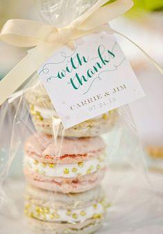 Mad for Macarons on itsabridelife.com #wedding #weddingdesserts #macarons #weddingmacarons #sweetstable #desserttable #macaronweddingcake #macaronescortcards #macaronweddingfavors